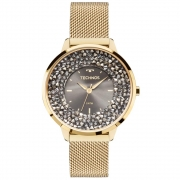 Relógio de Pulso Technos Feminino Elegance Crystal 2035MLG