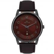 Relógio de Pulso Technos Masculino com Pulseira de Couro 2117LBG