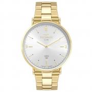 Relógio de Pulso Technos Slim com Vidro de Safira Unissex 2025LT