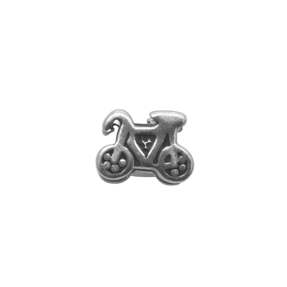 Berloque Prata 925 Bicicleta 9 mm