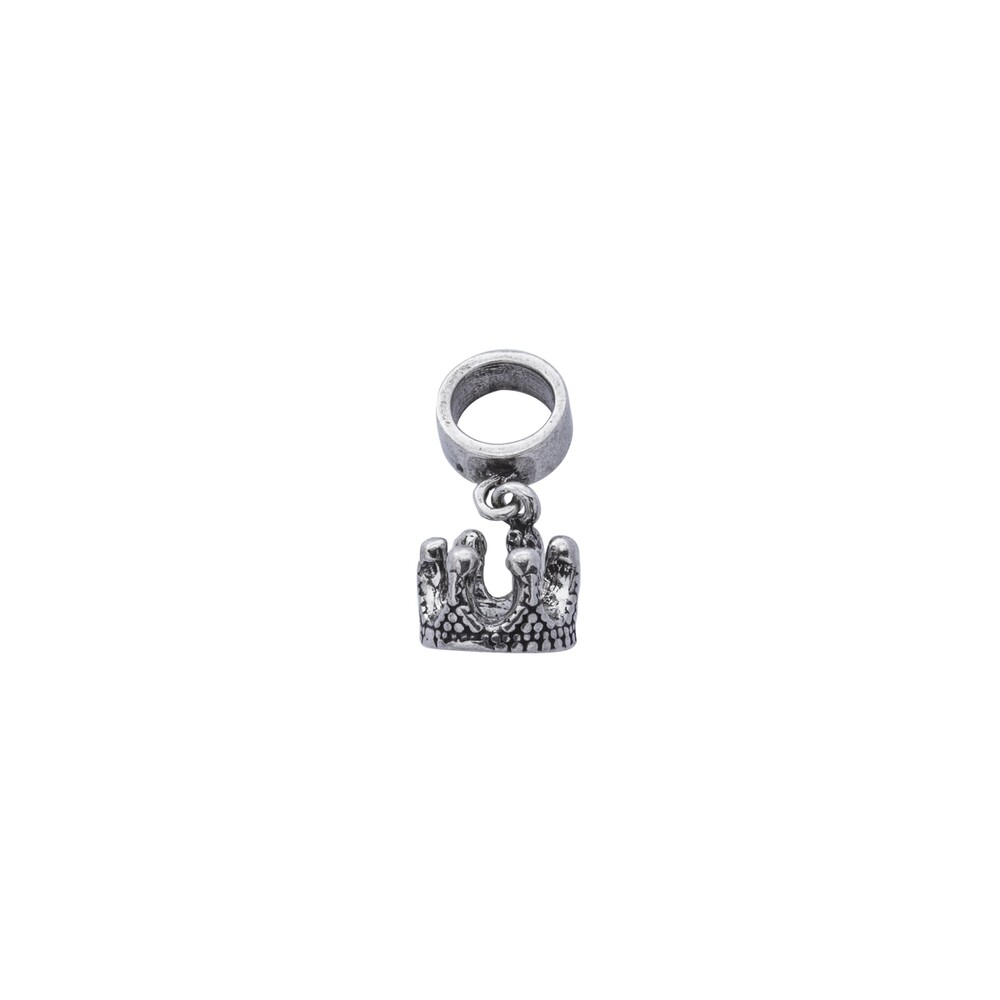 Berloque Prata 925 Coroa 6 mm