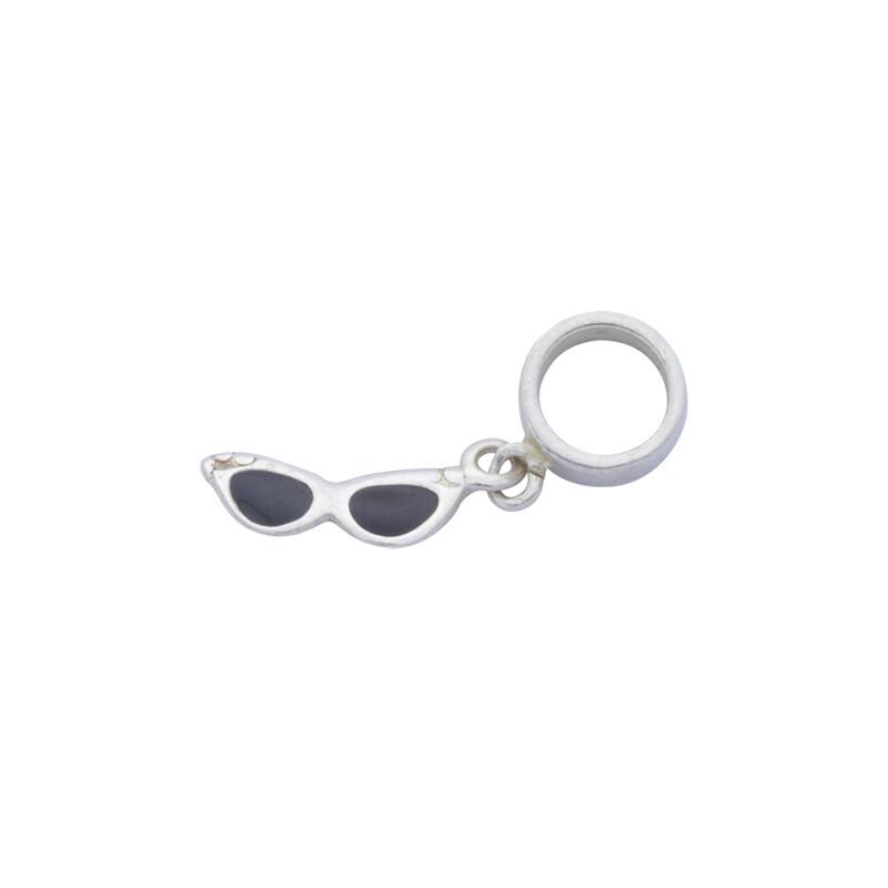 Berloque Prata 925 Óculos de Sol 11 mm