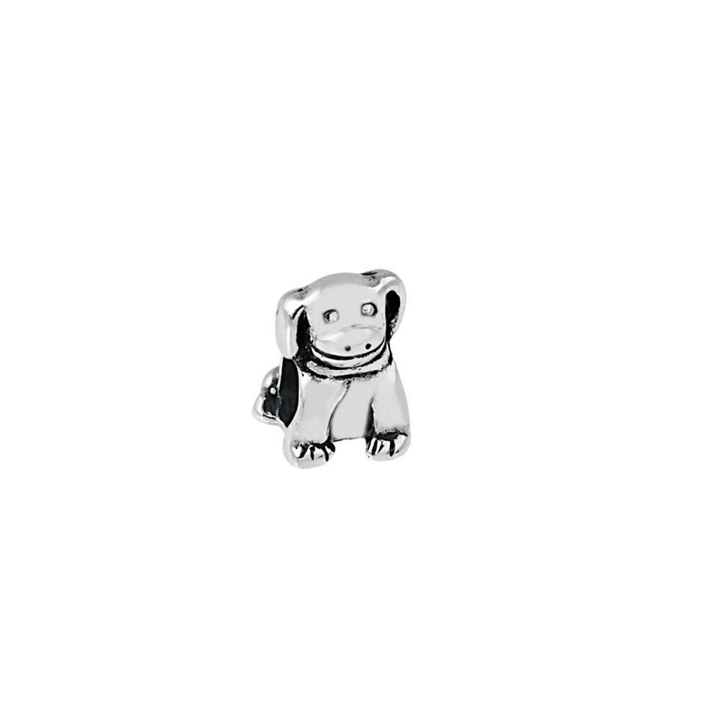 Berloque Prata de Bali 925 Cachorrinho Sentado 11 mm