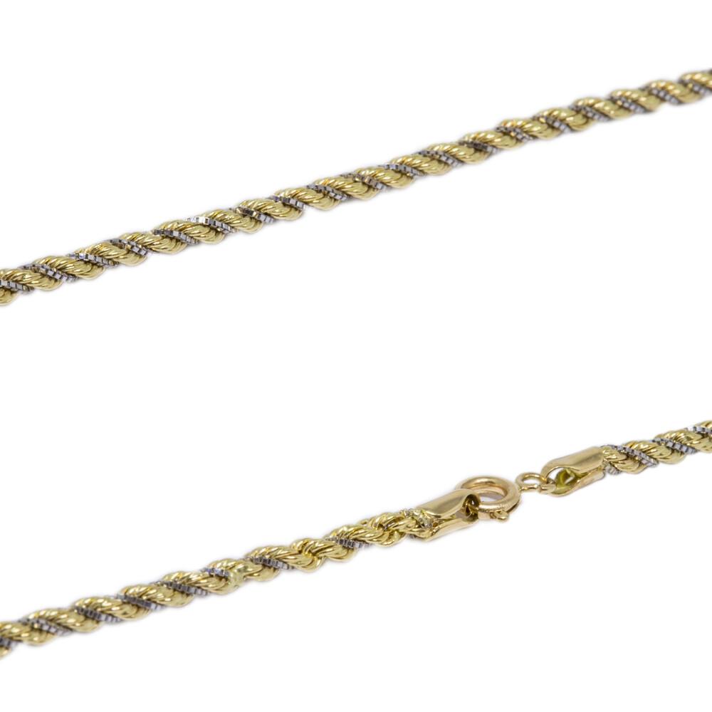 Corrente Ouro 18k Elo Cordão 50 cm