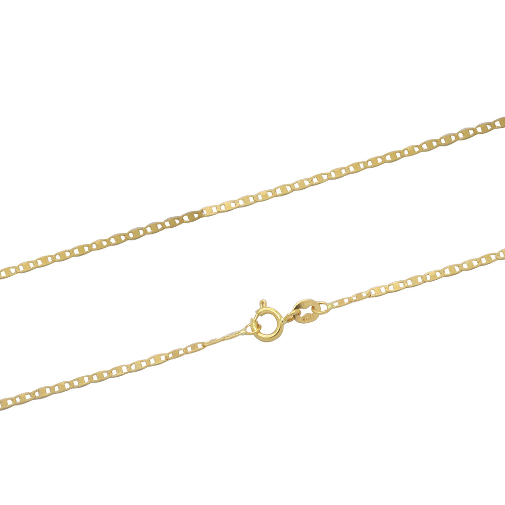 Corrente Ouro 18k Elo Piastrine 60 cm