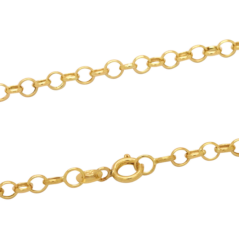 Corrente Ouro 18k Elo Português 45 cm