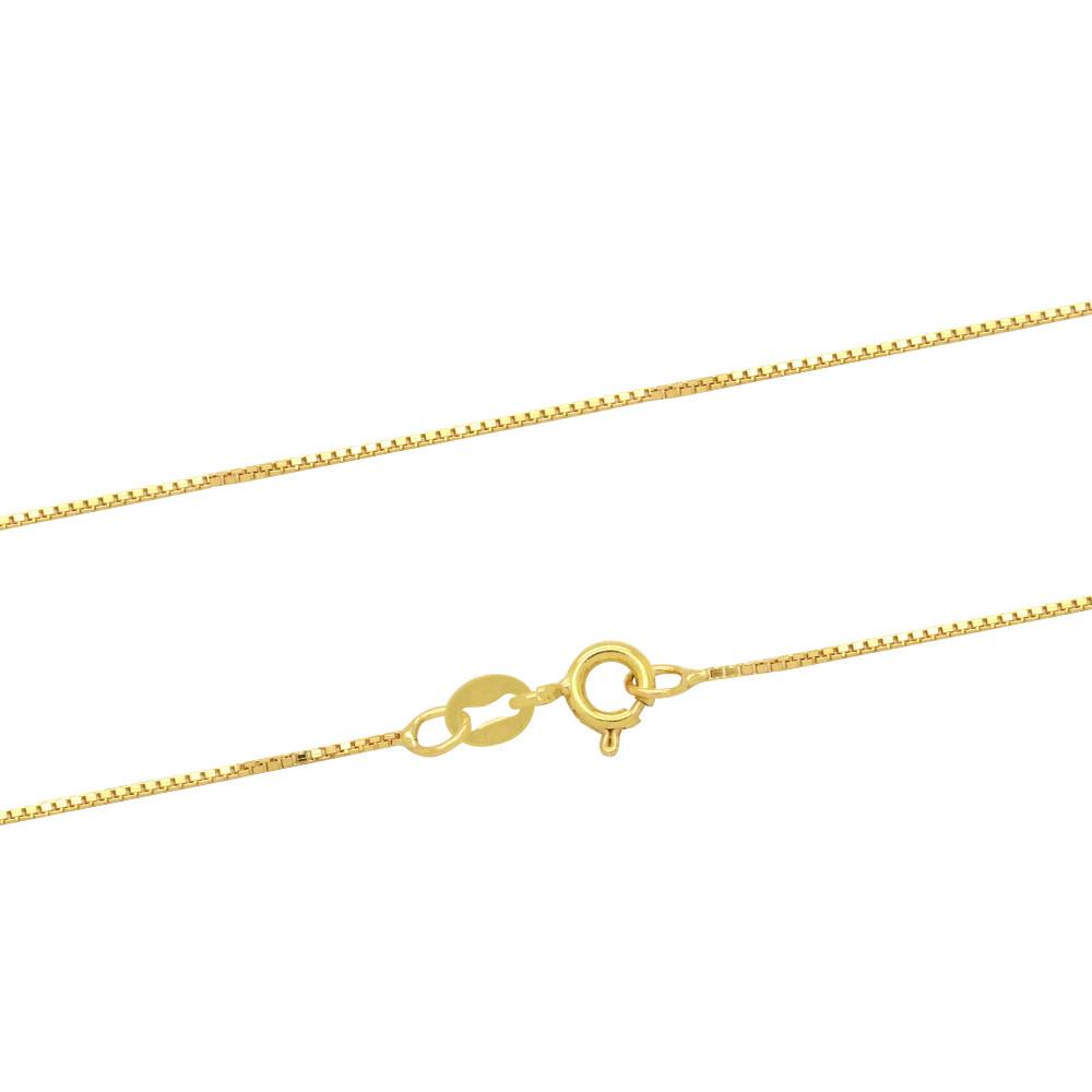 Corrente Ouro 18k Elo Veneziana 60 cm