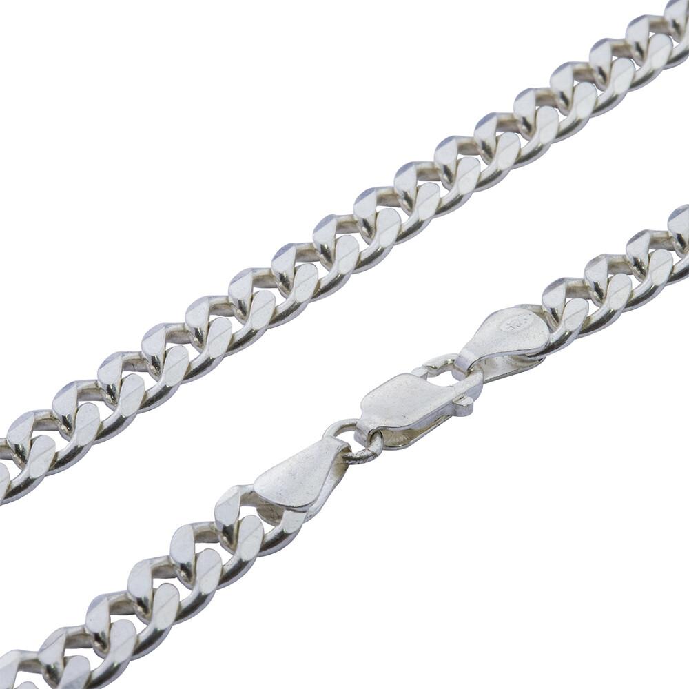 Corrente Prata 925 Elo Groumet 60 cm