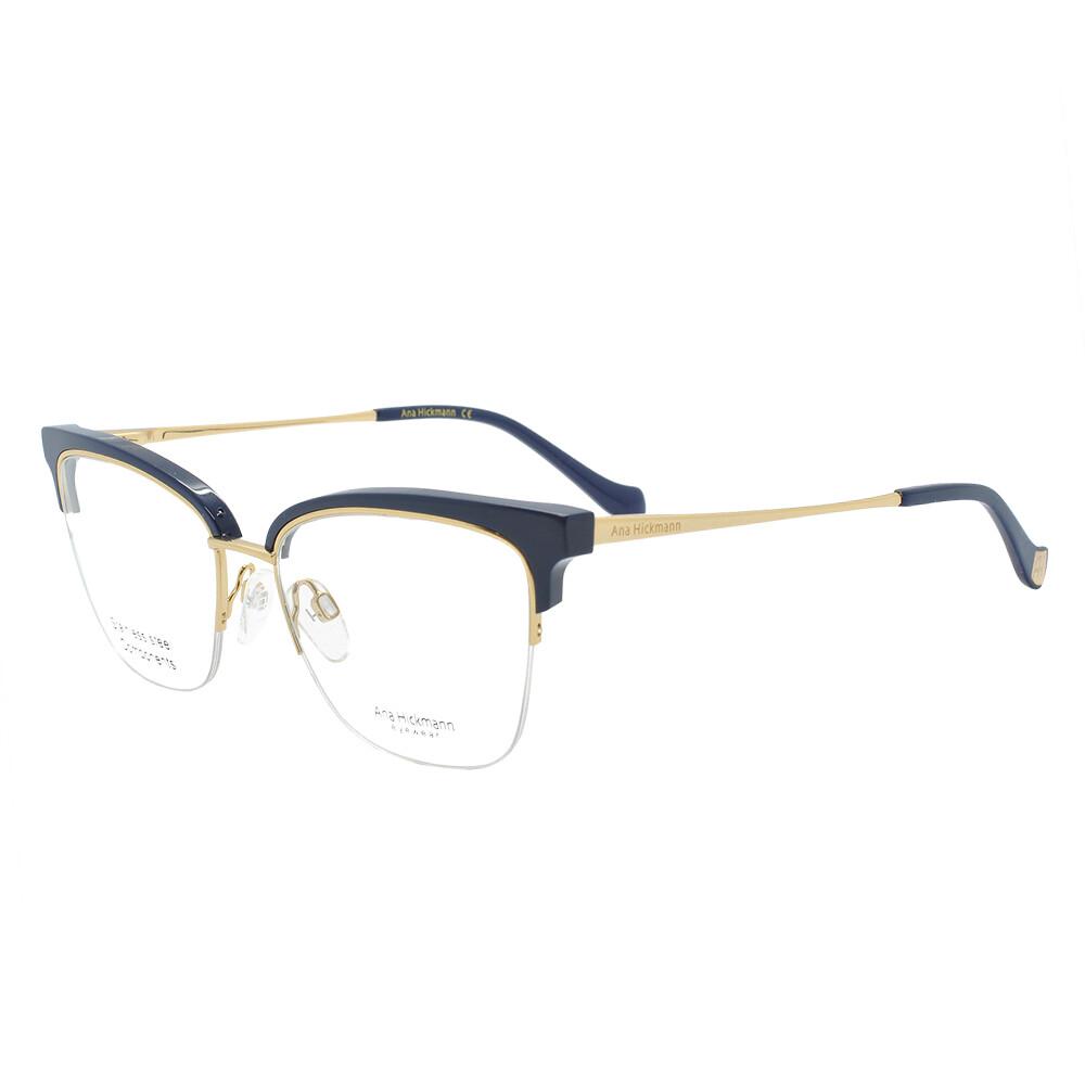 Óculos de Grau Ana Hickmann Feminino com Fio de Nylon AH1378