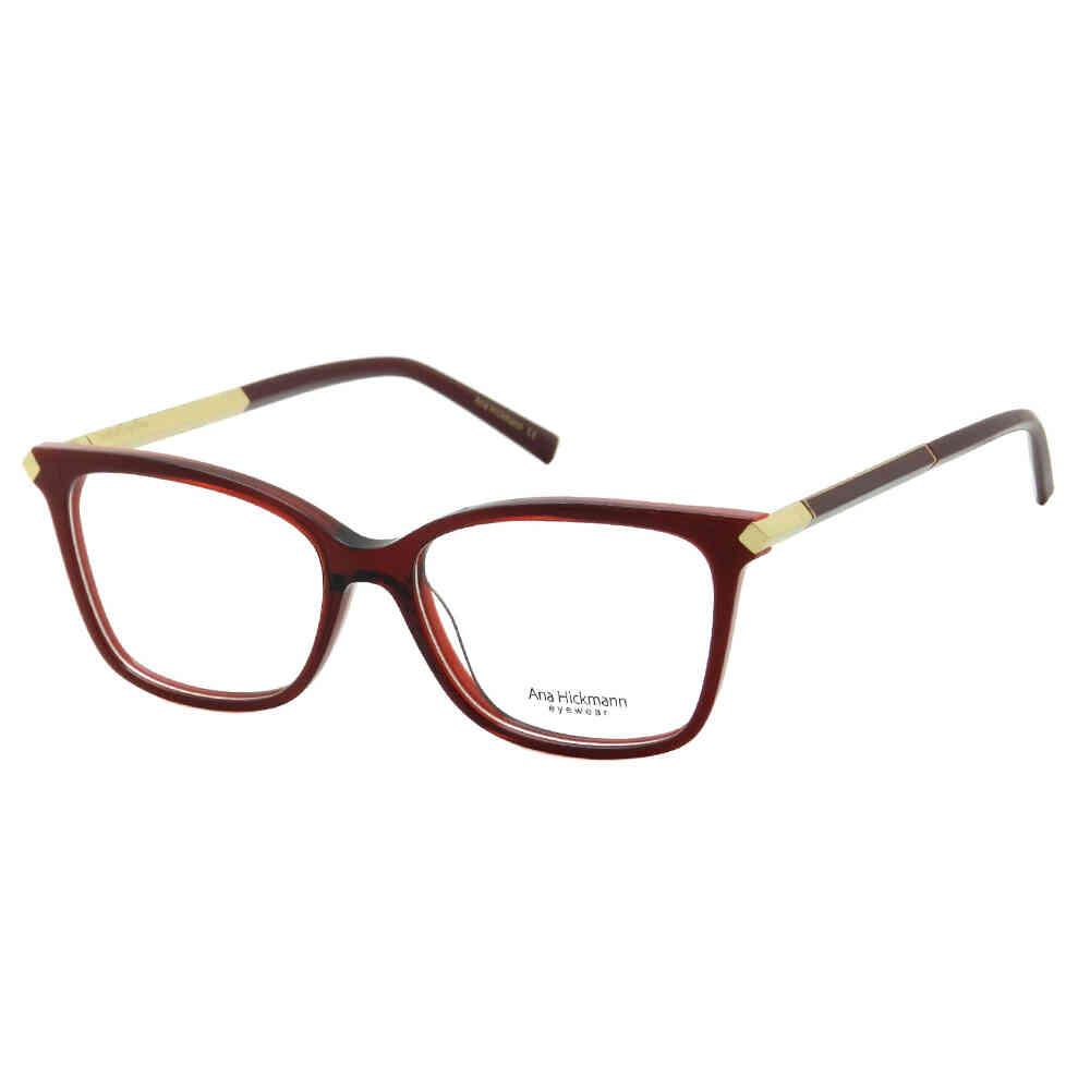 Óculos de Grau Ana Hickmann Feminino Vira Haste AH6322