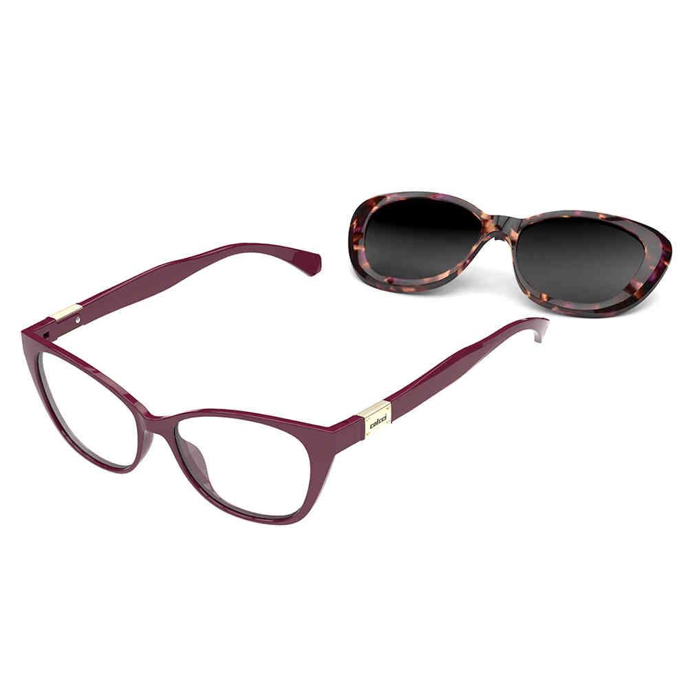 Óculos de Grau Colcci Bandy 2 Clip-on Polarizado Feminino C6123