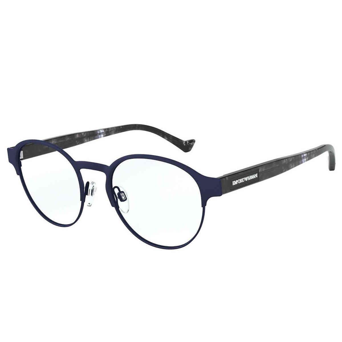 Óculos de Grau Emporio Armani Masculino Redondo EA1097
