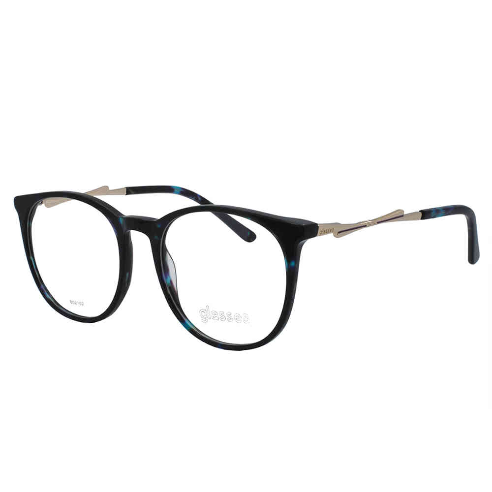 Óculos de Grau Glasses Feminino Gatinho B02102