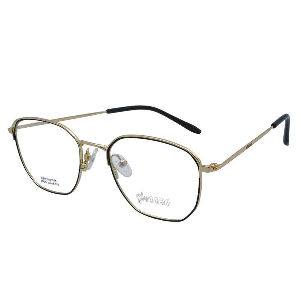 Óculos de Grau Glasses Hexagonal Unissex 99023