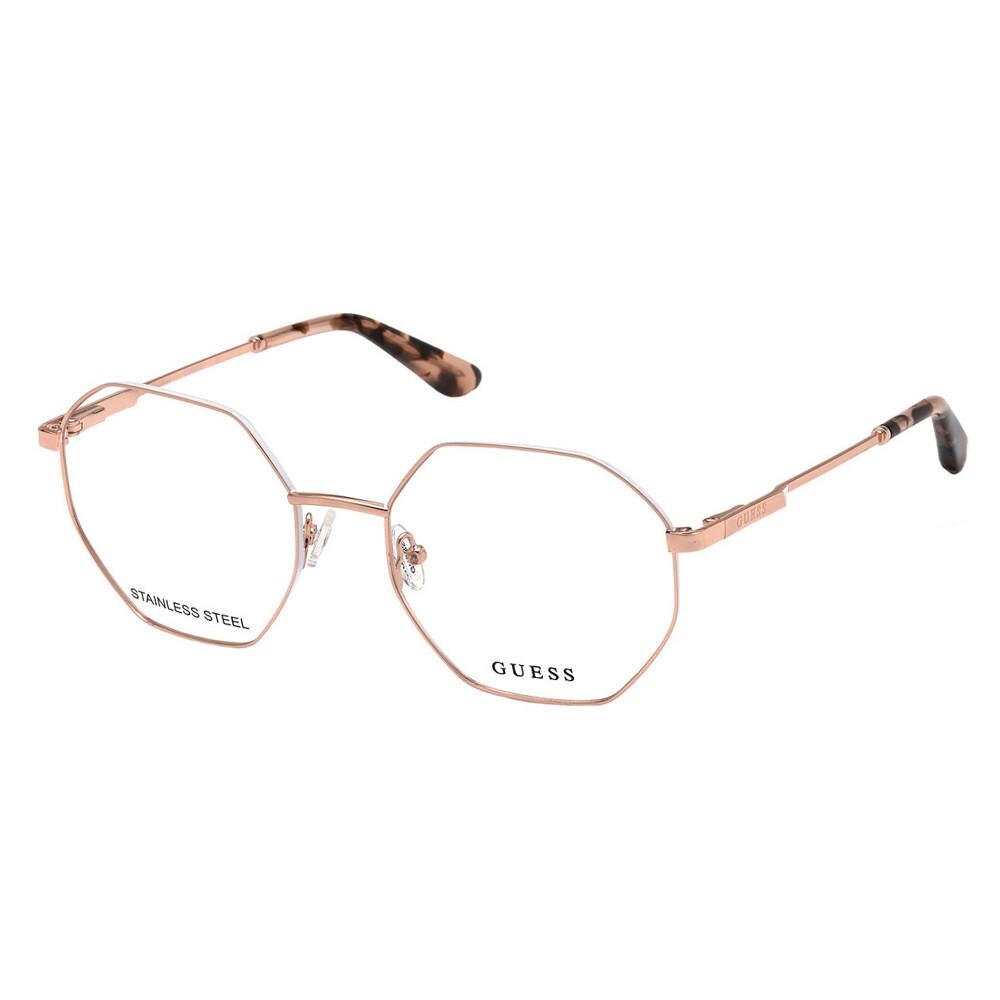 Óculos de Grau Guess Feminino Hexagonal GU2849