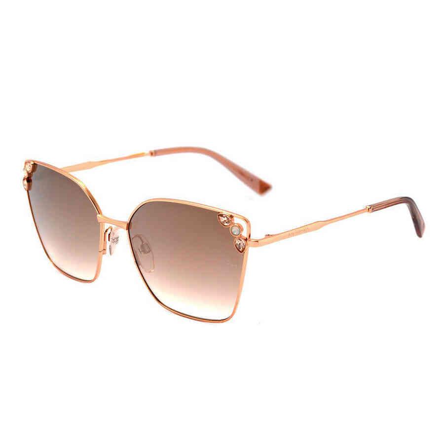 Óculos de Sol Ana Hickmann com Pedras Feminino AH3205