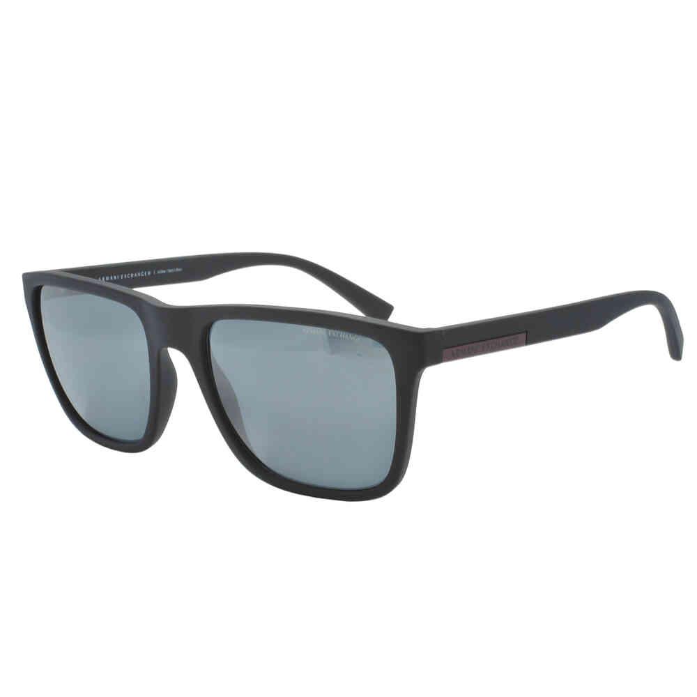 Óculos de Sol Armani Exchange Espelhado Masculino AX4080SL