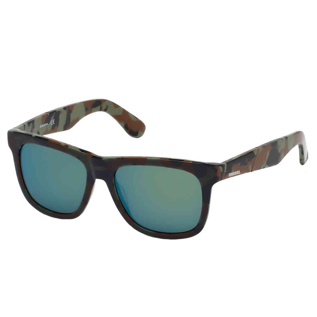 Óculos de Sol Diesel Unissex Espelhado DL0116