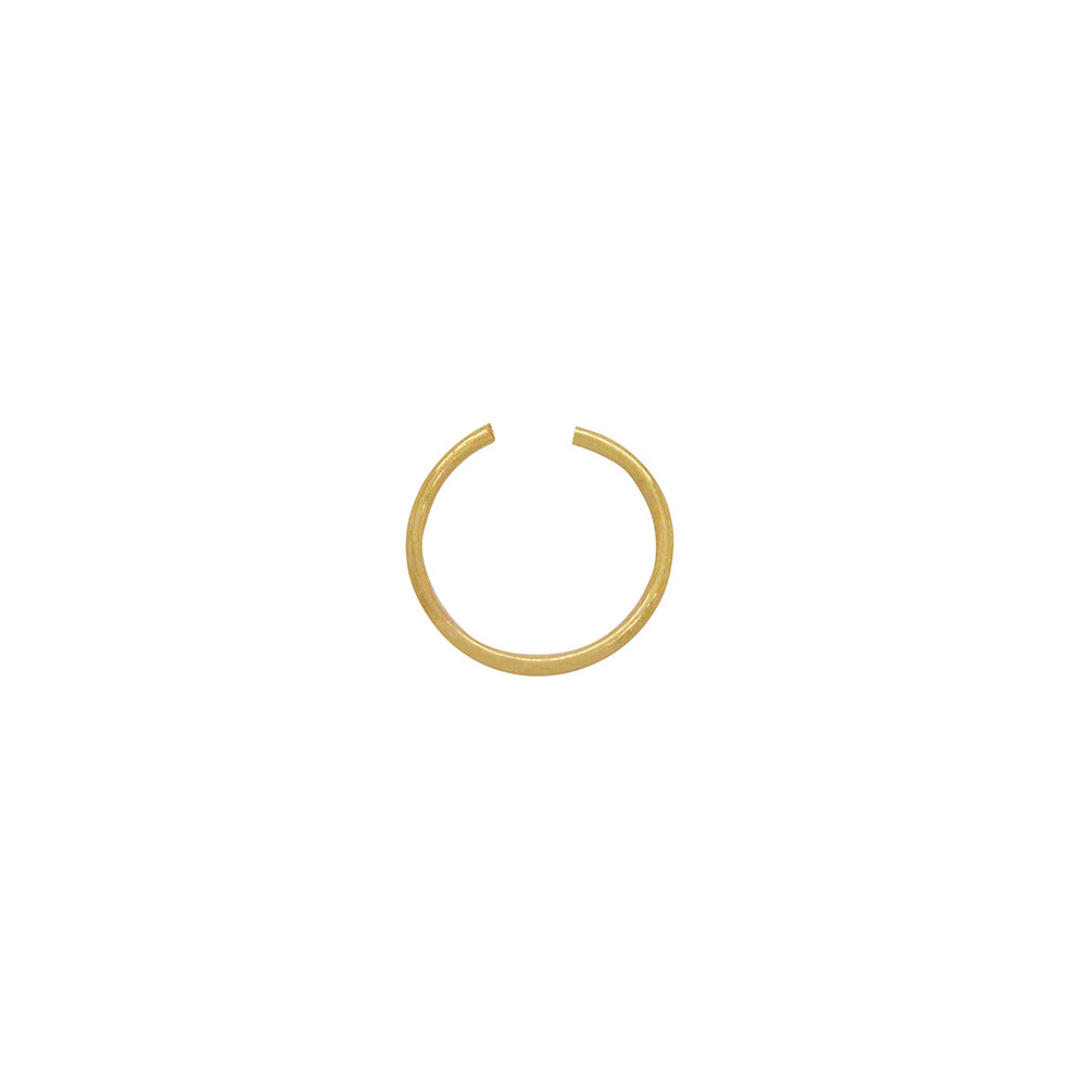 Piercing de Nariz Ouro 18k Argola 9 mm