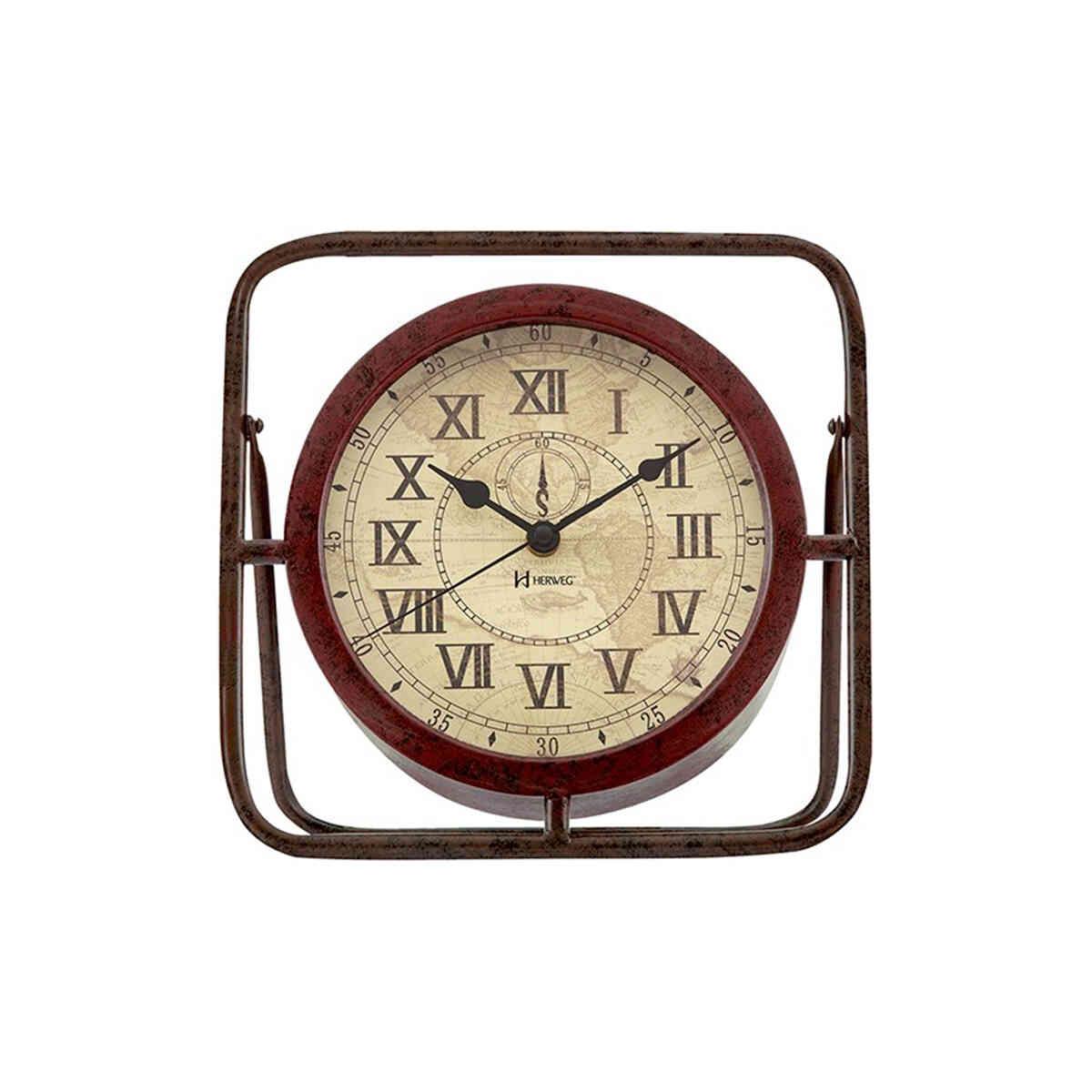 Relógio de Parede ou Mesa Herweg Vintage 6487 115