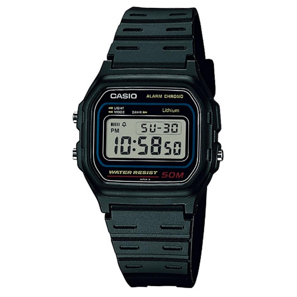 Relógio de Pulso Casio Vintage Borracha Unissex W-59