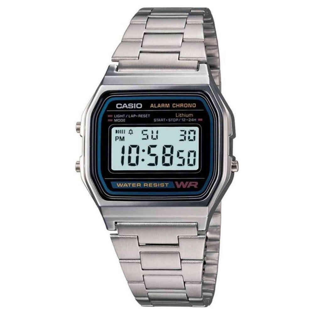 Relógio de Pulso Casio Vintage Unissex A158WA