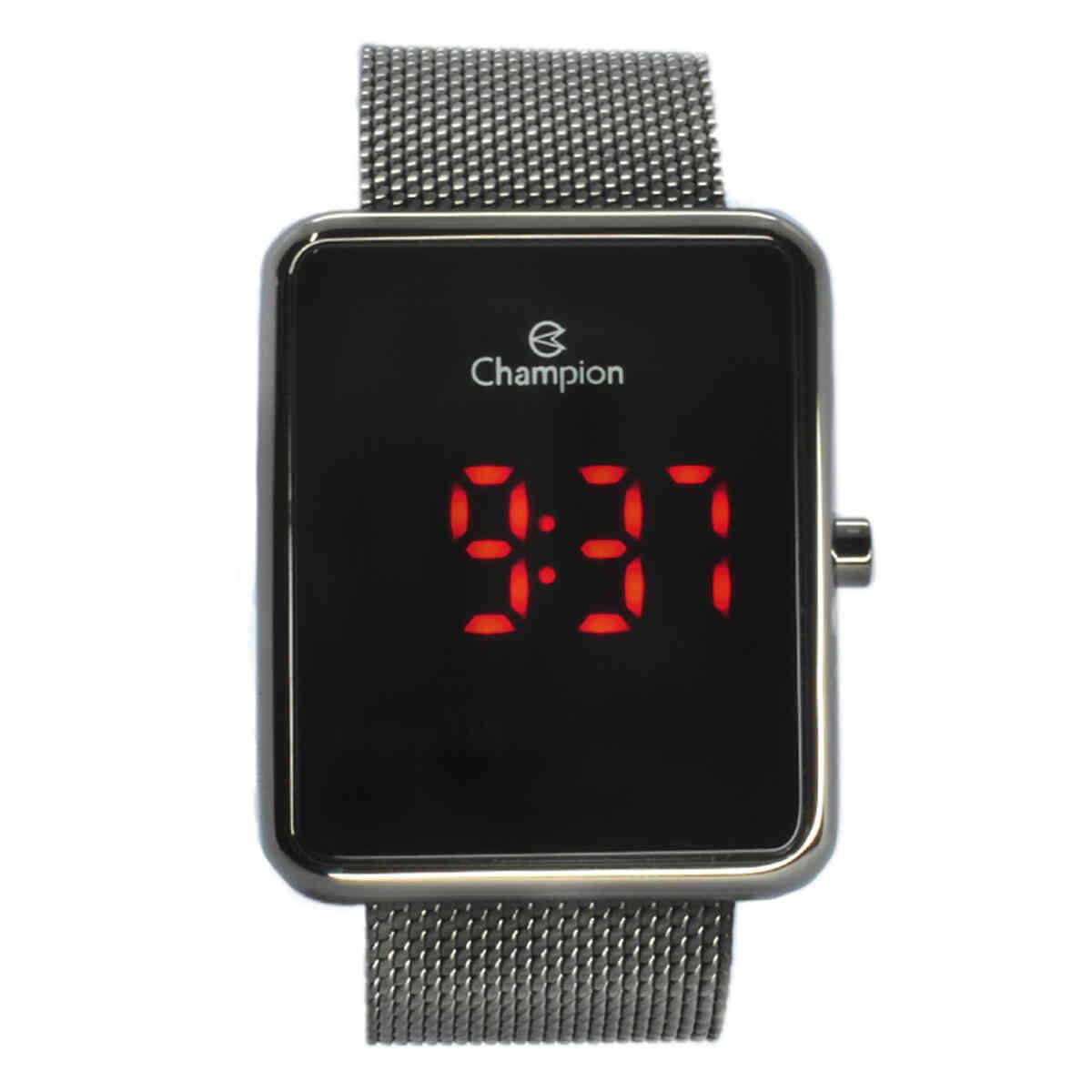 Relógio de Pulso Champion Quadrado Unissex CH40080