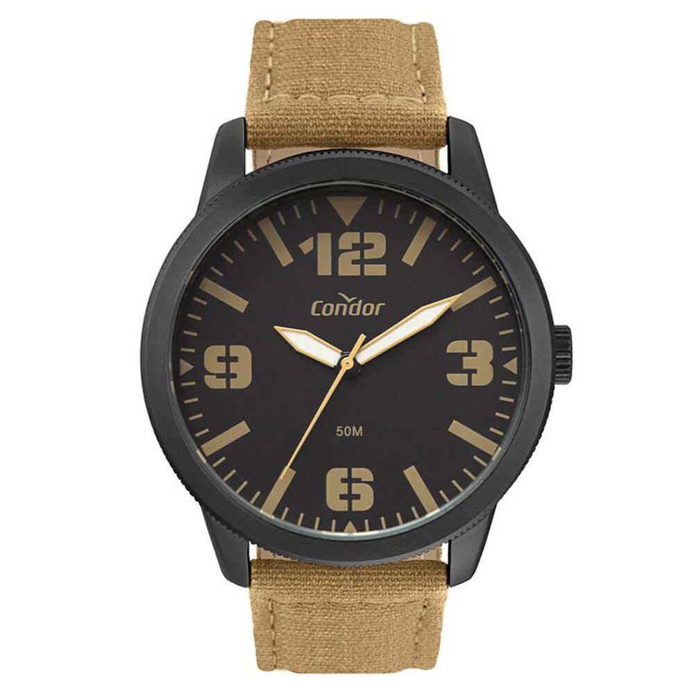 Relógio de Pulso Condor Masculino com Pulseira de Couro CO2035MWN
