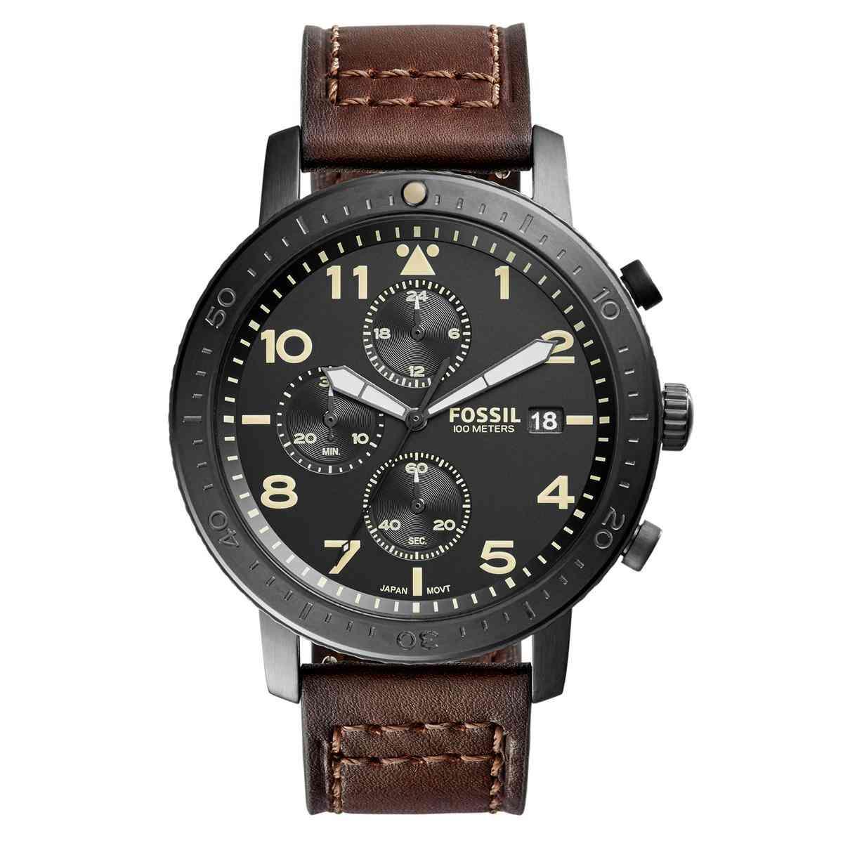 Relógio de Pulso Fossil The Major Masculino CH3086