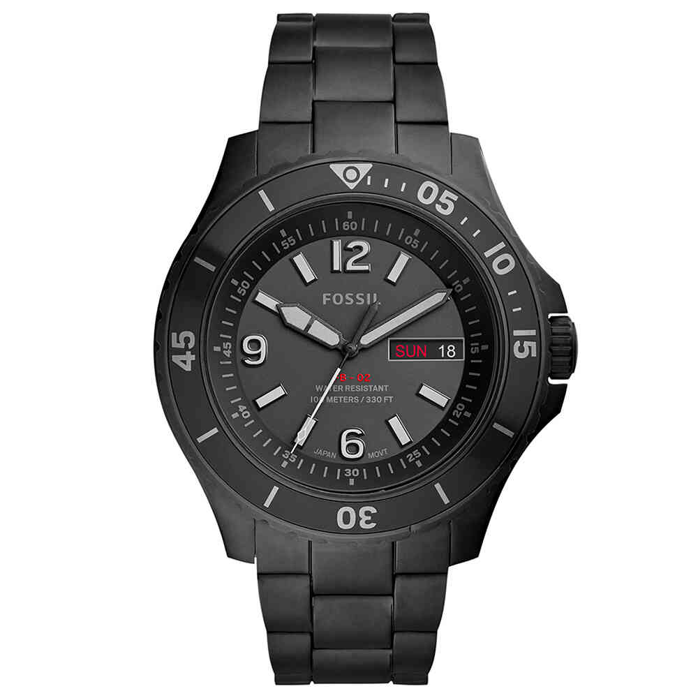 Relógio de Pulso Fossil Three-Hand Masculino FS5688