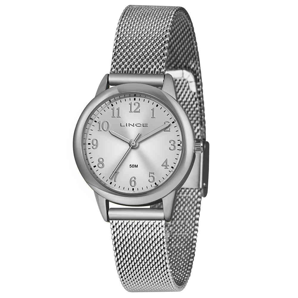 Relógio de Pulso Lince Feminino com Pulseira Esteirinha LRM4653L