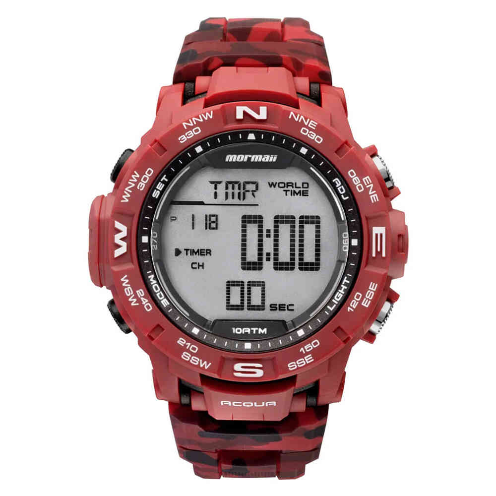Relógio de Pulso Mormaii Acqua Digital Masculino MO1173