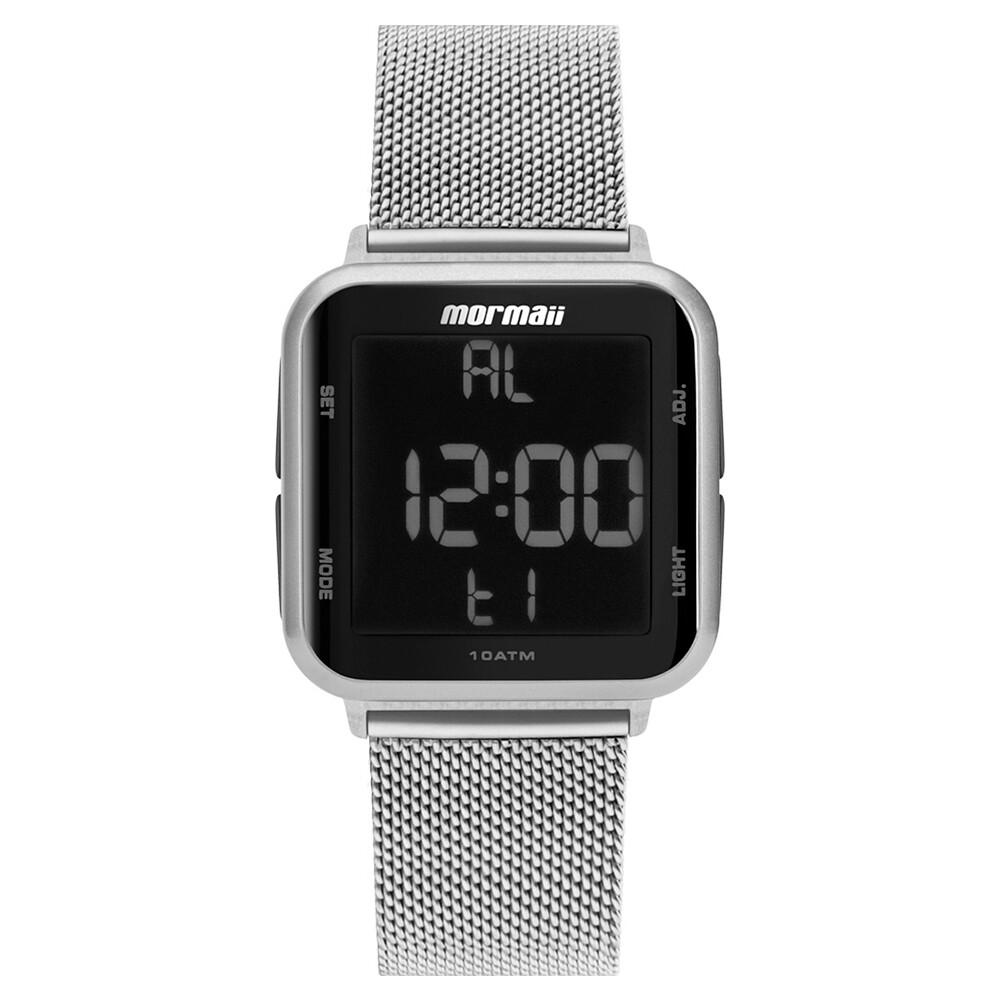Relógio de Pulso Mormaii Digital Quadrado Feminino MO6600A