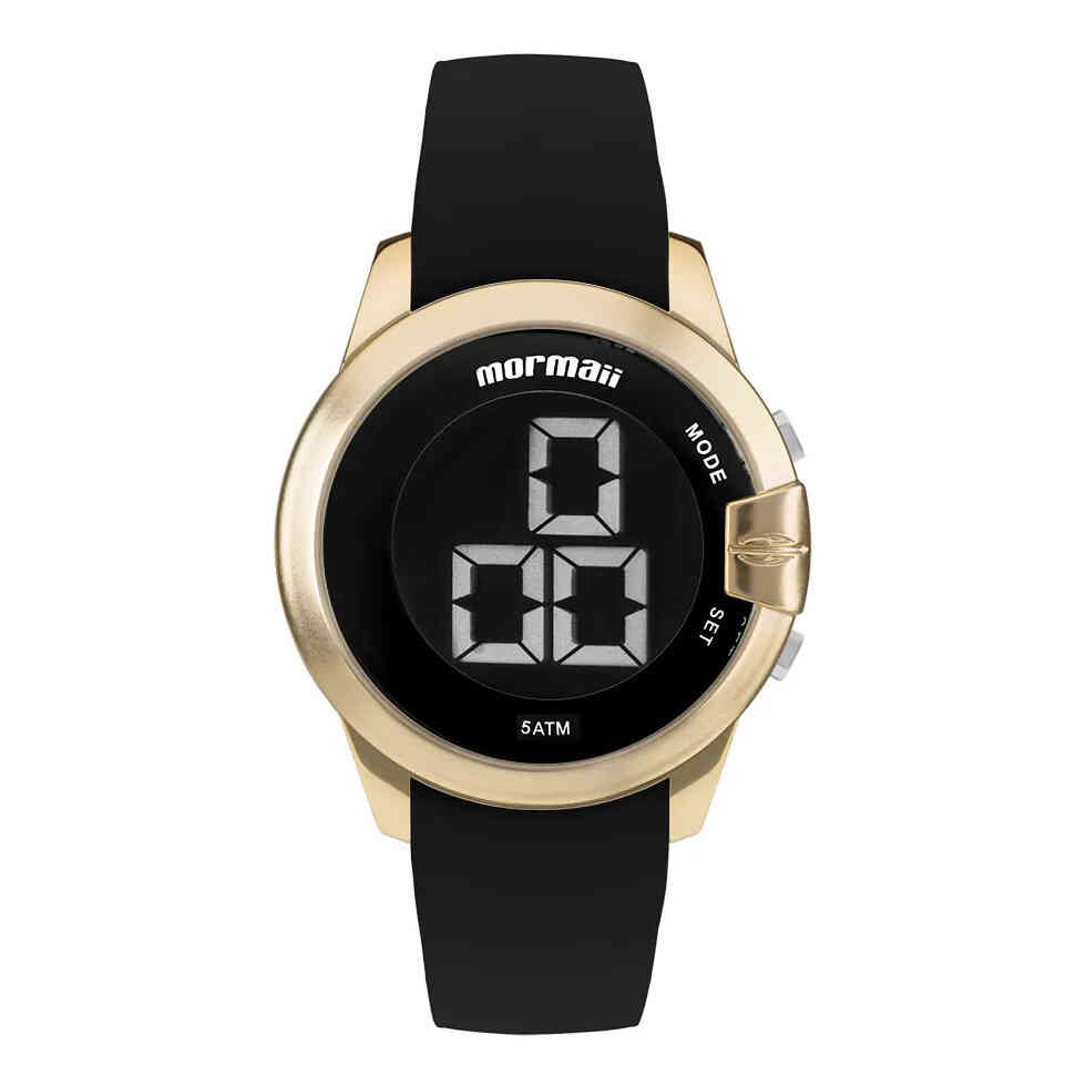Relógio de Pulso Mormaii Feminino com Pulseira de Silicone MOBJT007