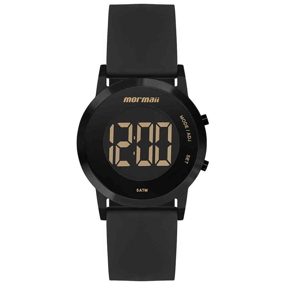Relógio de Pulso Mormaii Feminino Digital com Pulseira de Silicone MOBJT016A