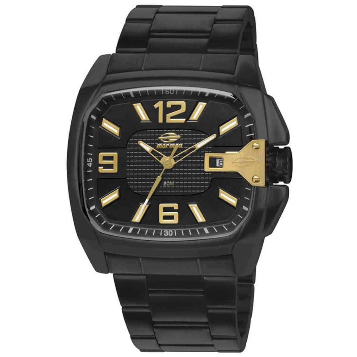 Relógio de Pulso Mormaii Quadrado Masculino MO2315AAF
