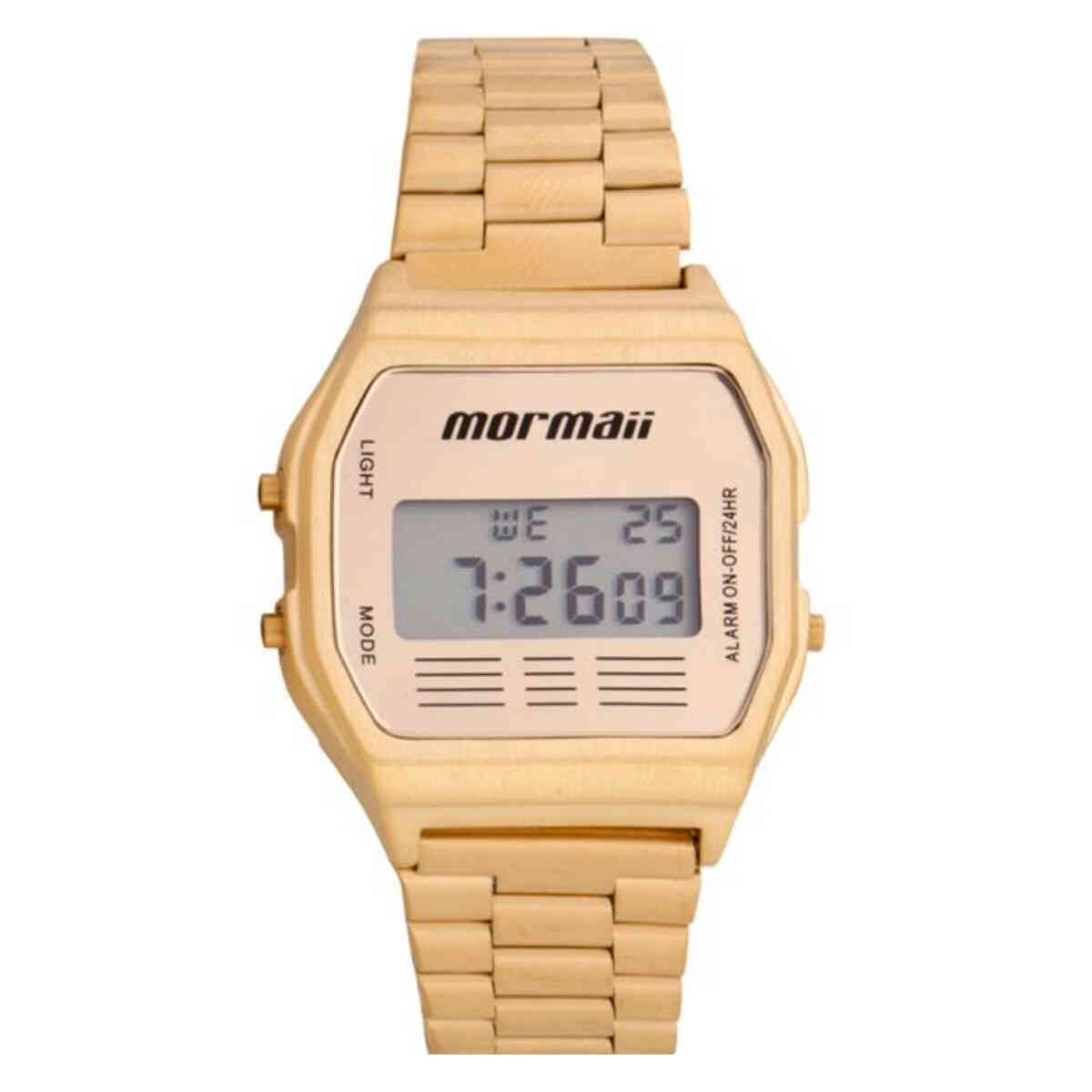 Relógio de Pulso Mormaii Vintage Unissex MOJH02AB