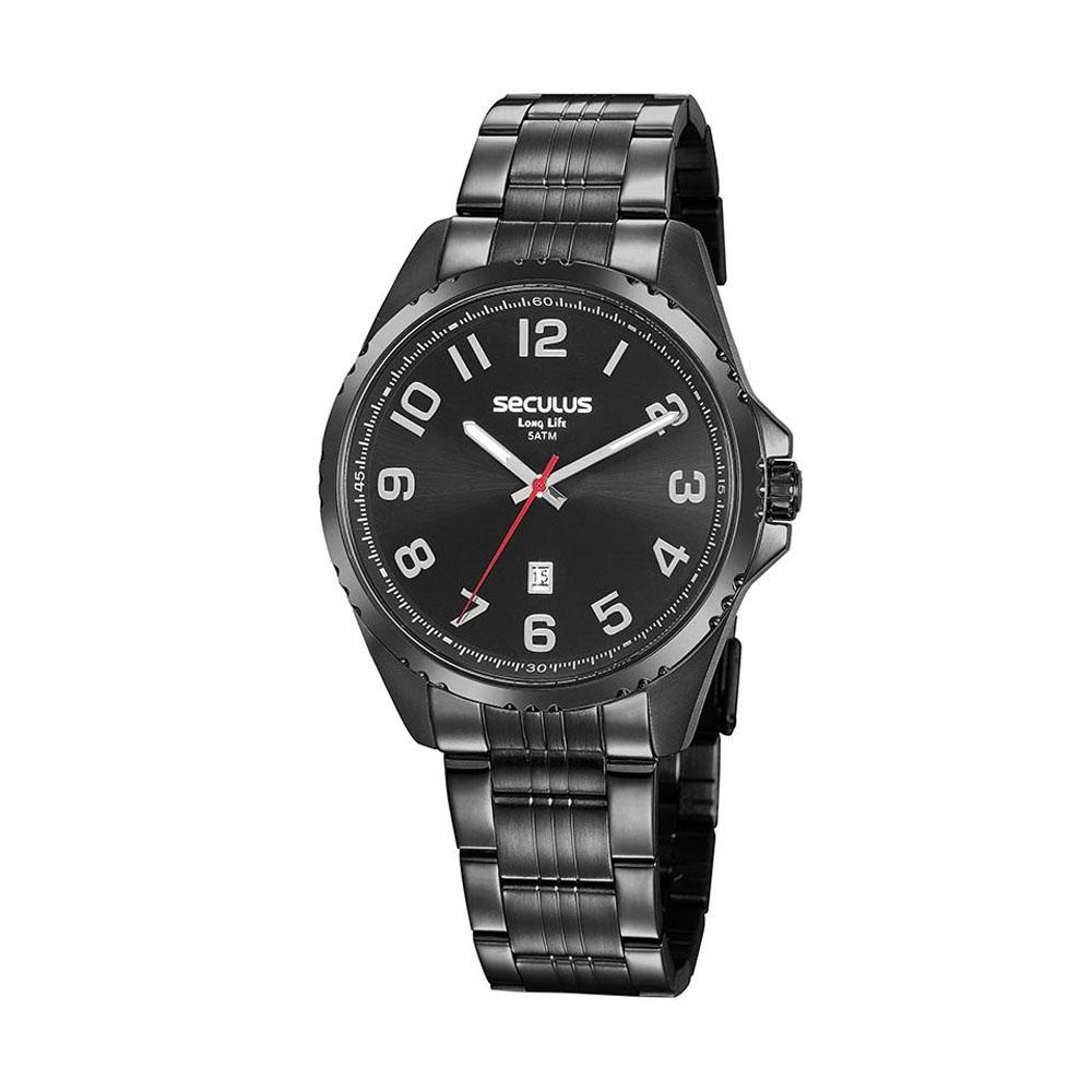 Relógio de Pulso Seculos Masculino 20855G