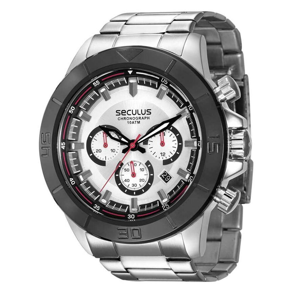 Relógio de Pulso Seculus Cronógrafo Masculino 28798GPSVCA1
