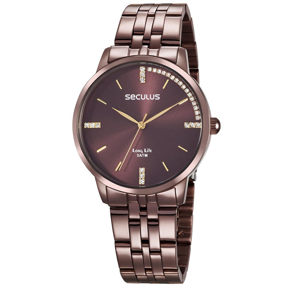 Relógio de Pulso Seculus Feminino 28812LPSVMA4