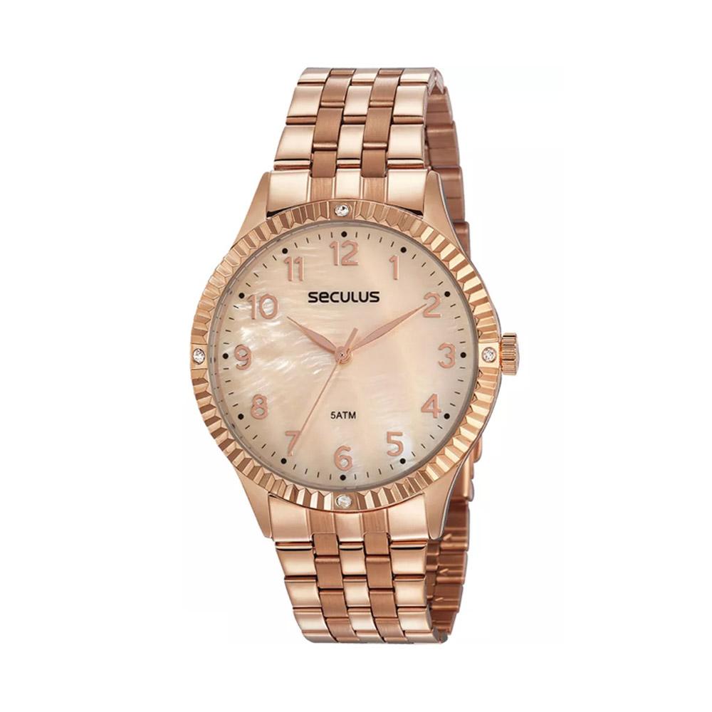 Relógio de Pulso Seculus Feminino 77047L