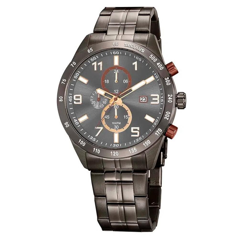 Relógio de Pulso Seculus Masculino 20838GPSVSA2