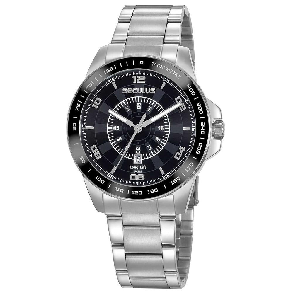 Relógio de Pulso Seculus Masculino 20898G0SVNA3