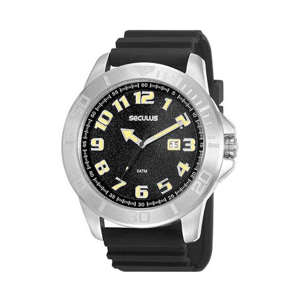 Relógio de Pulso Seculus Masculino 20933G