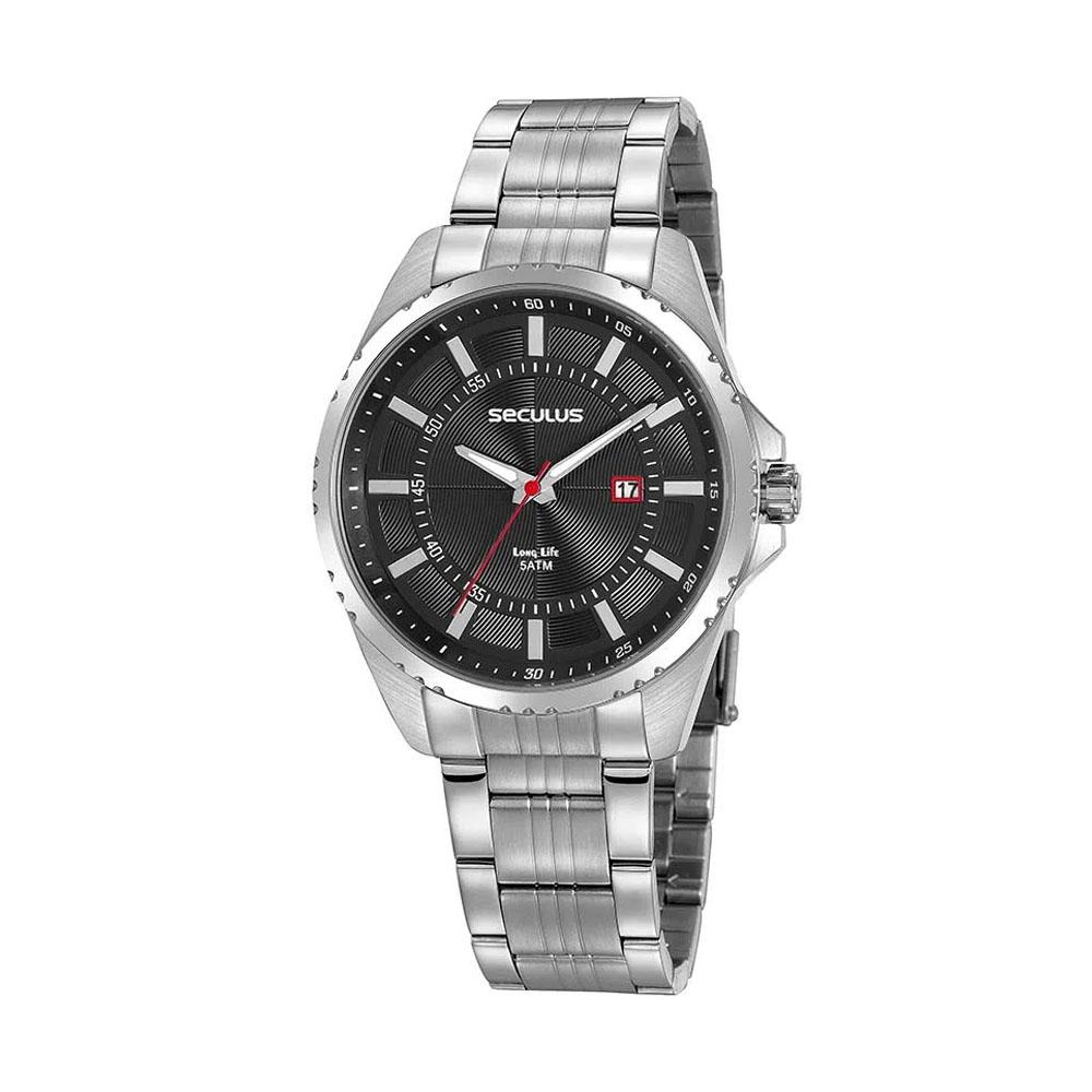 Relógio de Pulso Seculus Masculino Long Life 20850G