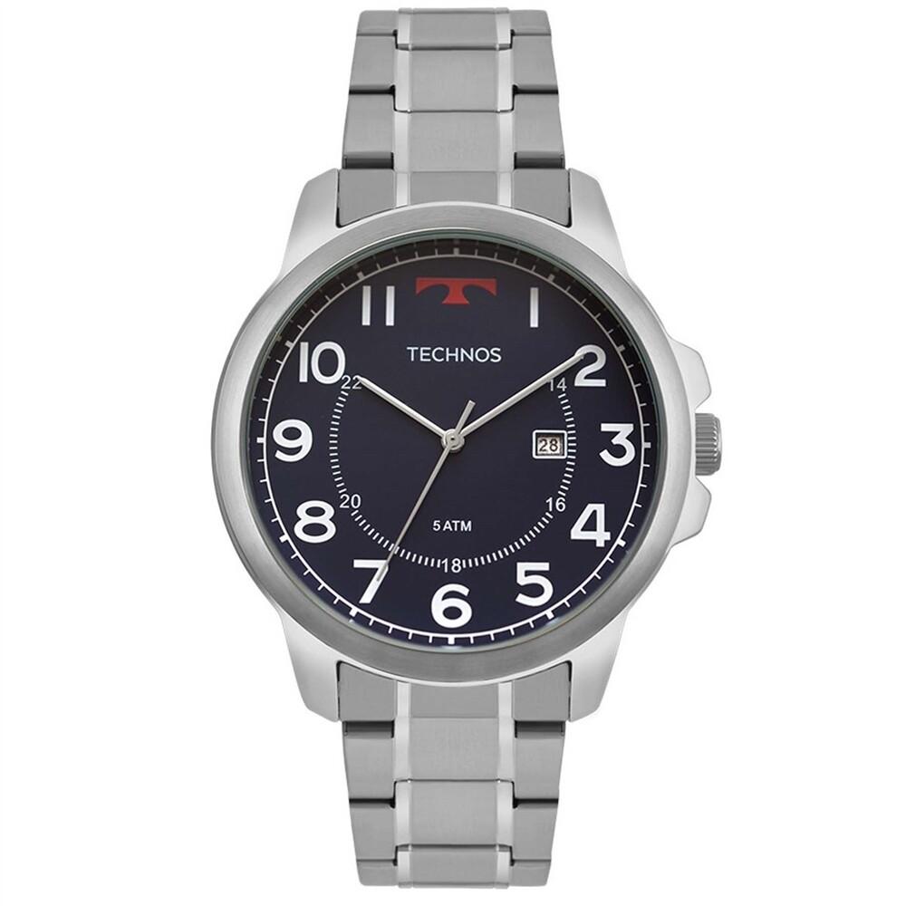 Relógio de Pulso Technos Classic Steel Masculino 2115MOZ