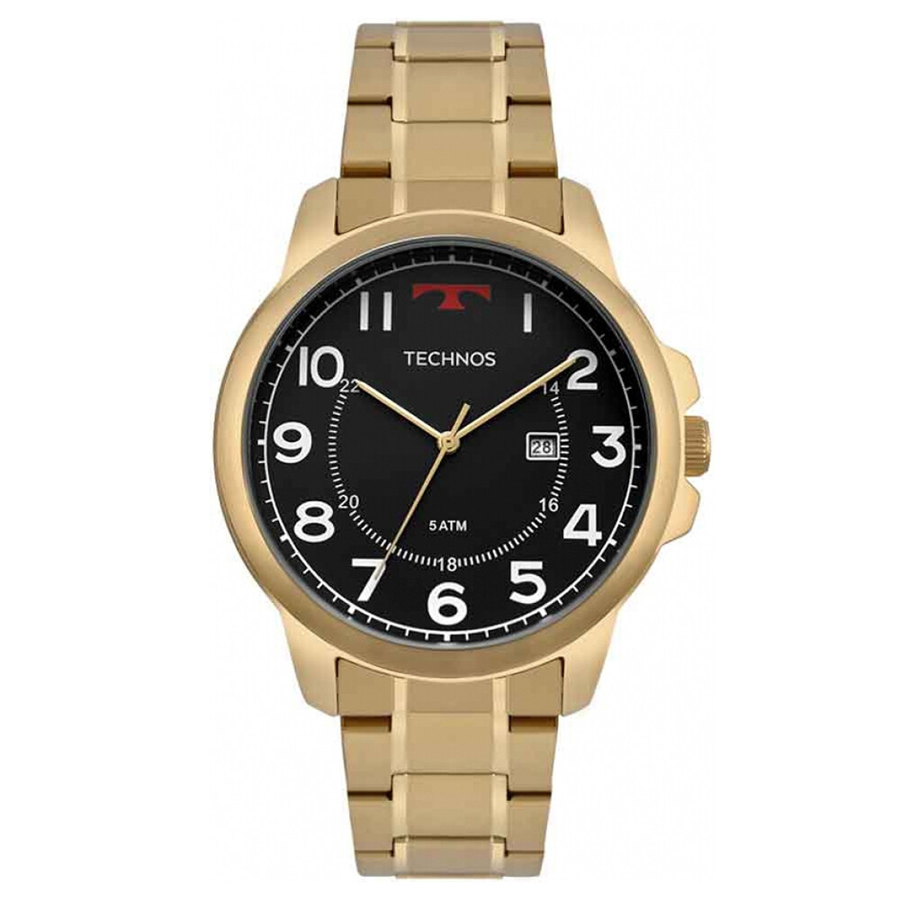 Relógio de Pulso Technos Classic Steel Masculino 2115MPA