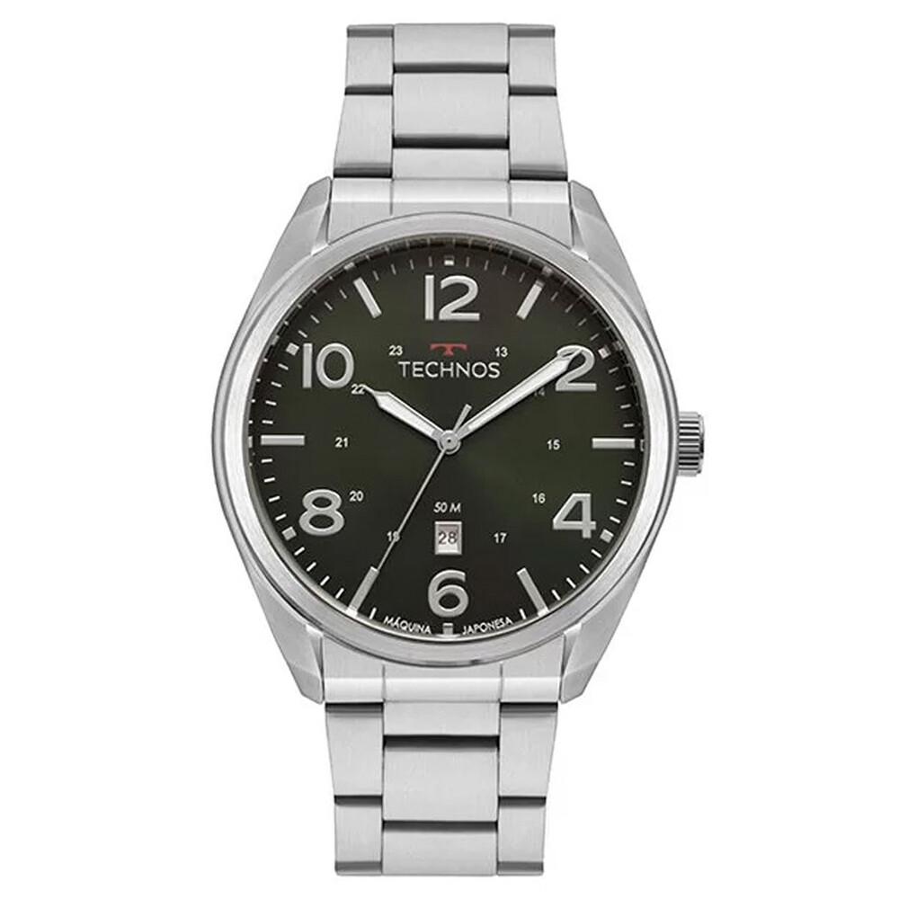 Relógio de Pulso Technos Classic Steel Masculino 2115MTA
