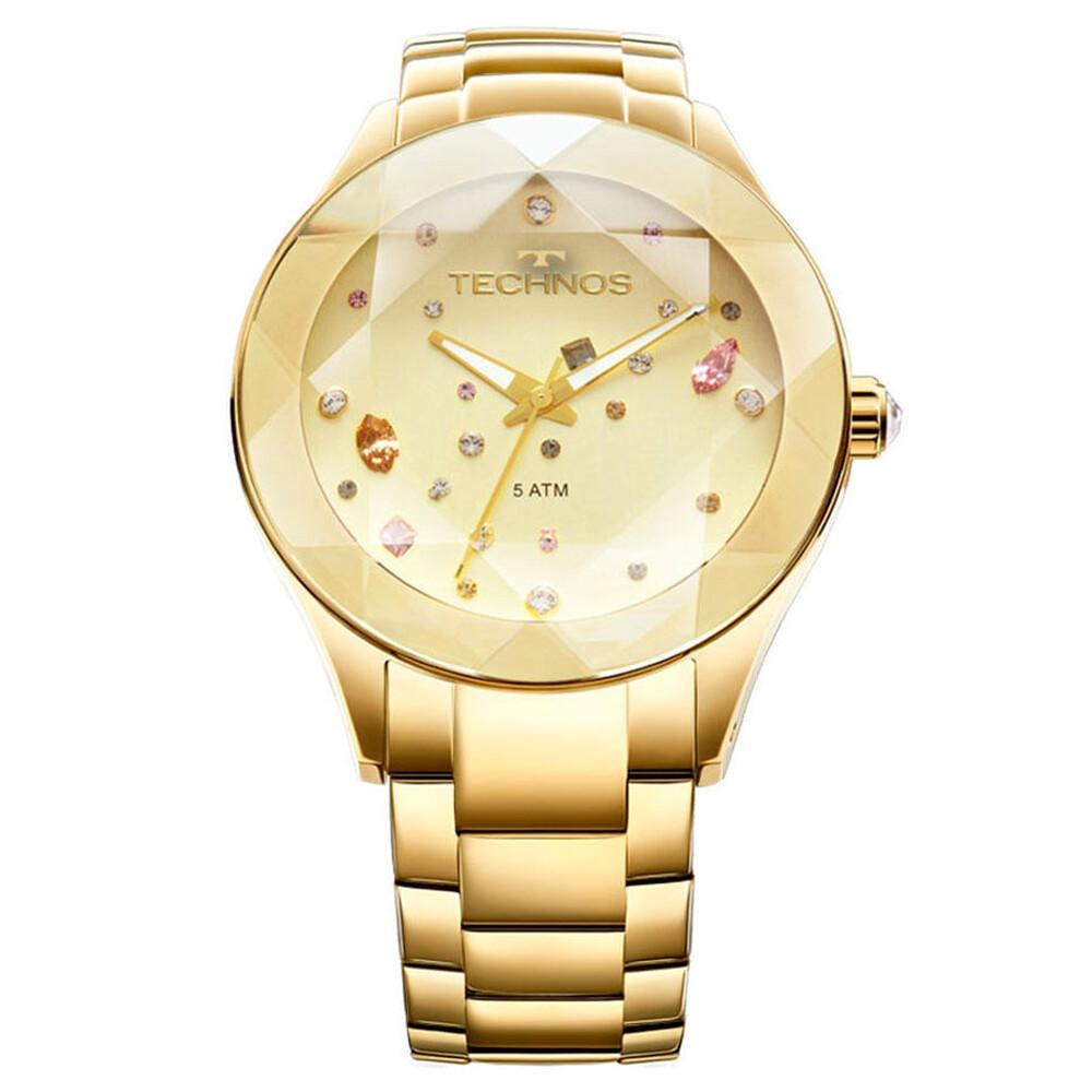 Relógio de Pulso Technos Crystal Feminino 2039ATDTM