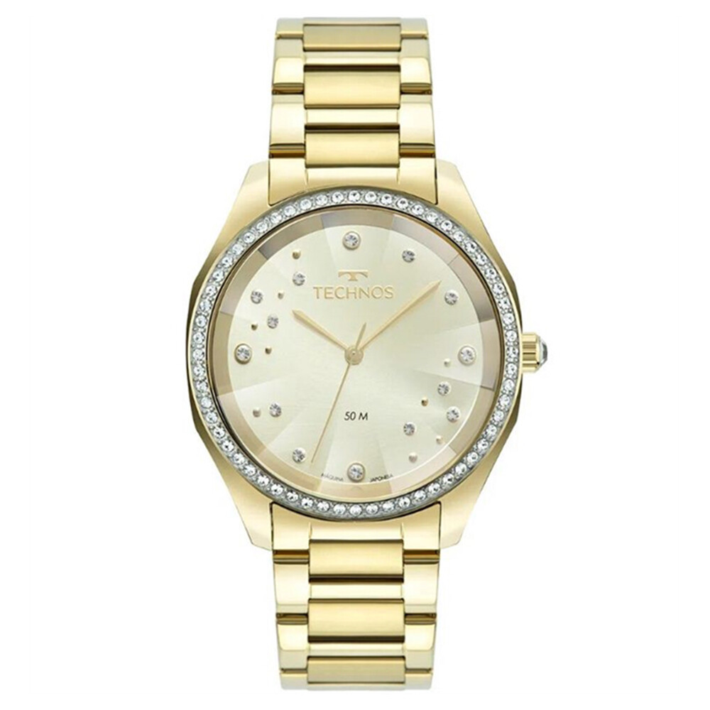 Relógio de Pulso Technos Feminino Elegance Swarovski 2036MM
